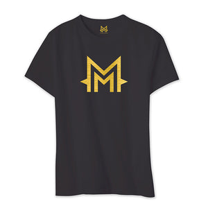 T-Shirt -M- Logo Or