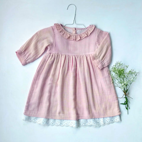 Angel dress in organic cotton