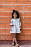 Hana tunic and bloomers set in stripe