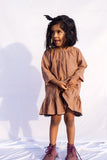 Gelato dress in COCOA