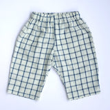 Unisex pants checks khadi