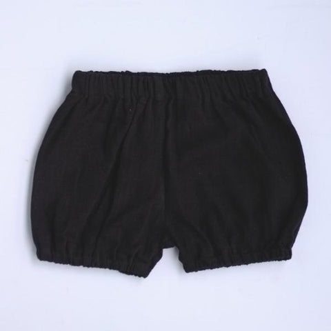 Basic bloomers babies black khadi