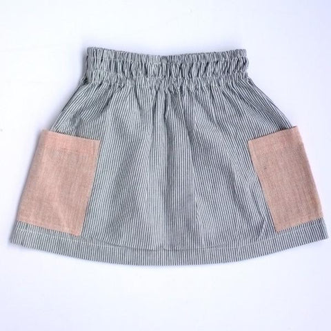 Stripe skirt for baby