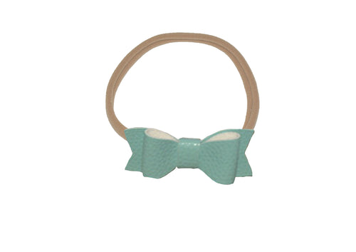Bow Headband Mint