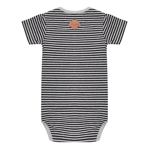 Onesie Shortsleeve Striped