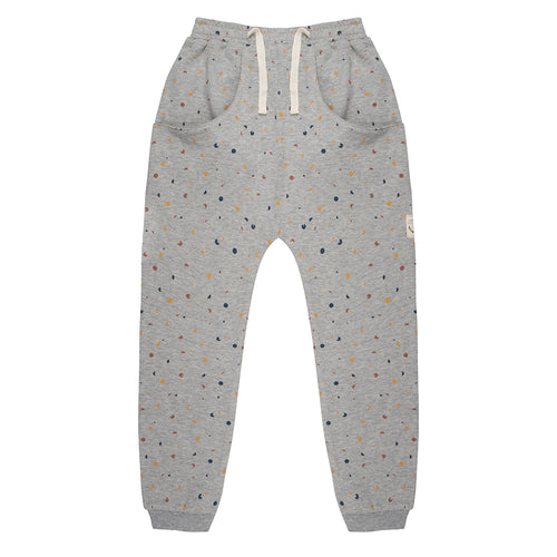 Pants Confetti - Grey Melange