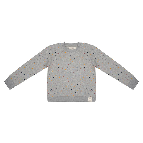 Sweater Confetti - Grey Melange