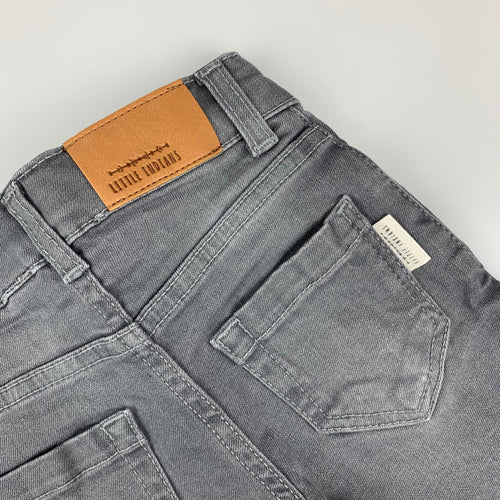 Korte Broek Denim - Light Grey