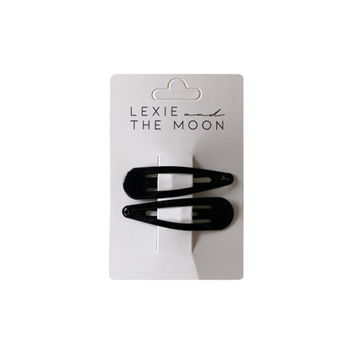 Lexie & The Moon - Hair Clip Black