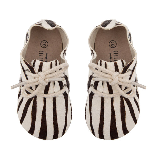 Oxford booties Zebra