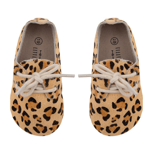 PRE-ORDER Oxford booties Leopard