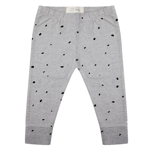 Legging Dots - Grey Melange