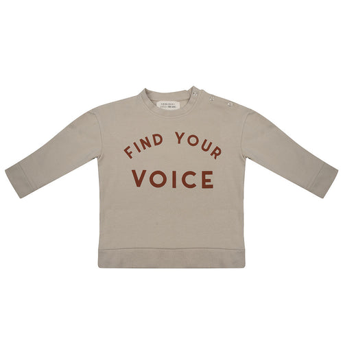 Sweater Find Your Voice - Cement