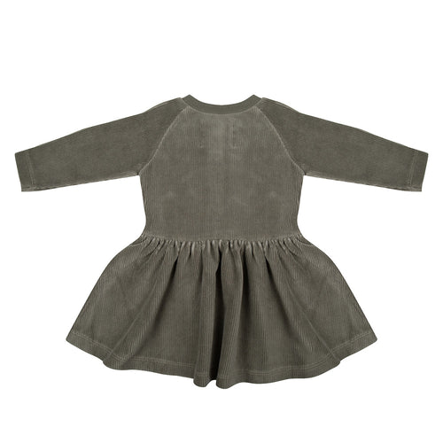 Dress - Corduroy Green