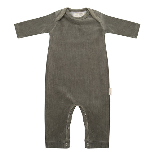 Jumpsuit - Corduroy Green