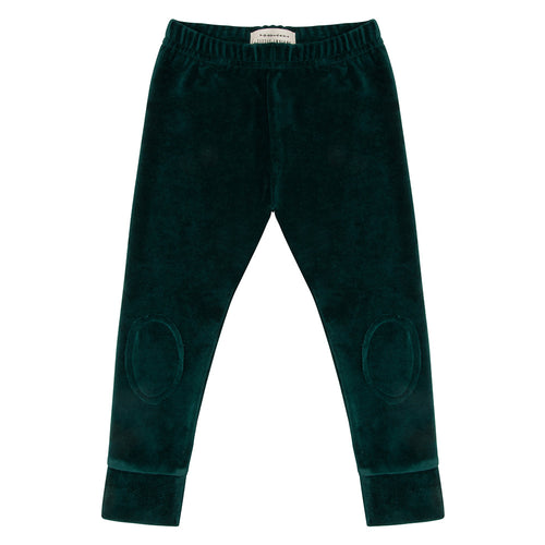 Marlon Legging Pine trees velour