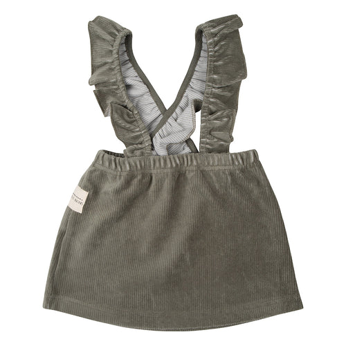 Salopette Dress - Corduroy Green