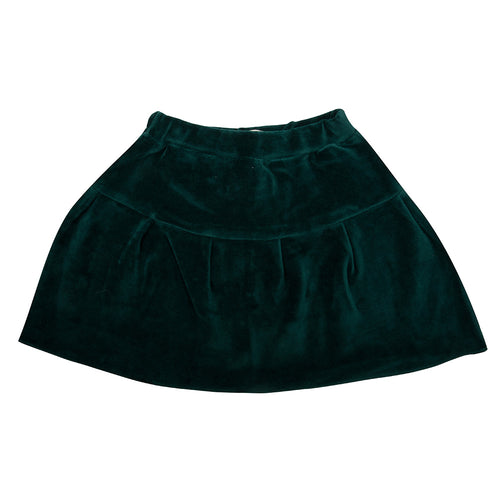 Skirt Pine Trees Green velour