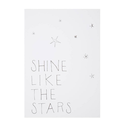 Postcard -  Shine Like The Stars