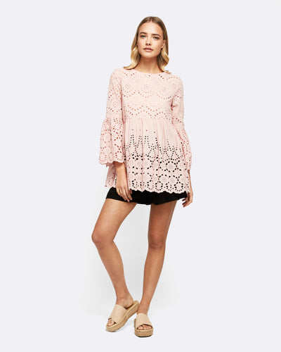Irreplaceable Sunshine Top - Blush