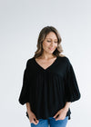 Gypsy Top - Black