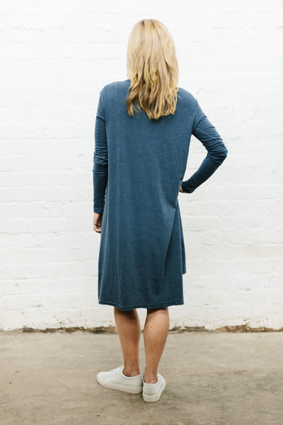 Billie Dress - Indigo