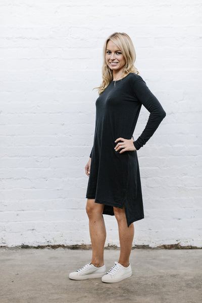 Billie Dress - Jet Black