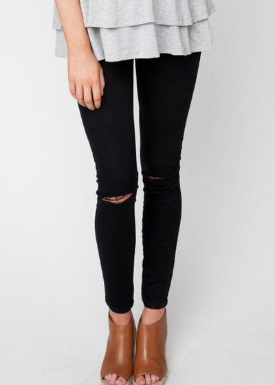 Isla Distressed Jegging