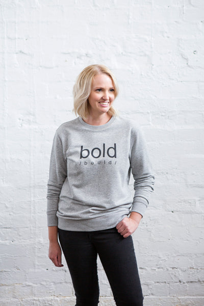 Bold Sweater - Grey PRE ORDER