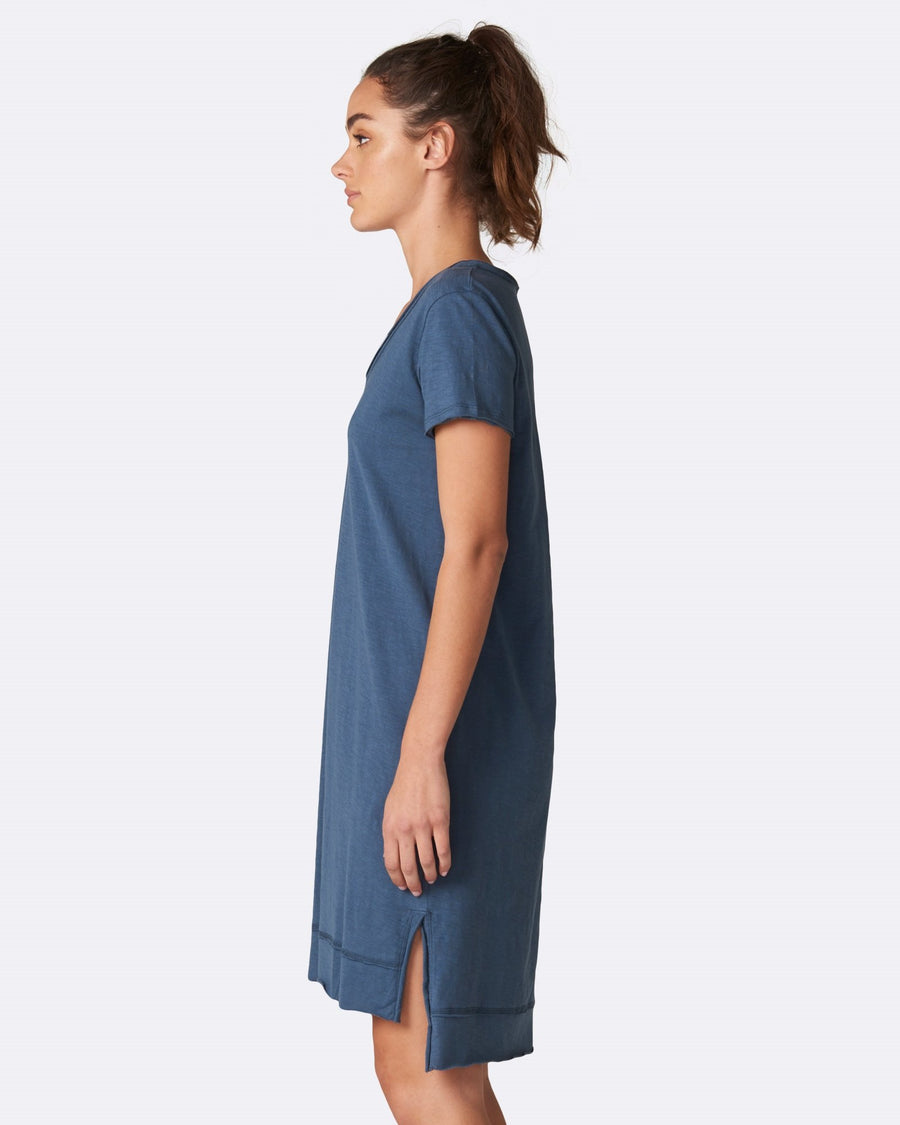 Mable Dress - Indigo