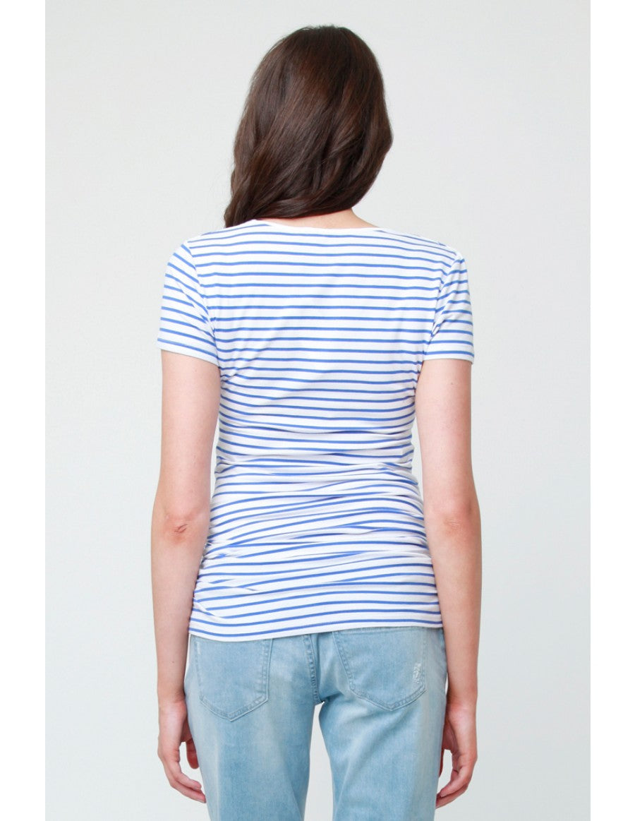 Stripe Tube Tee - Blue
