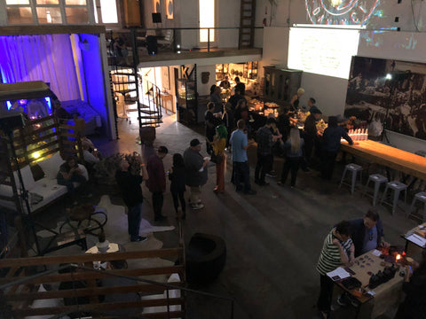 CBD Hemp Party with grassfed vape rooms and dab bars