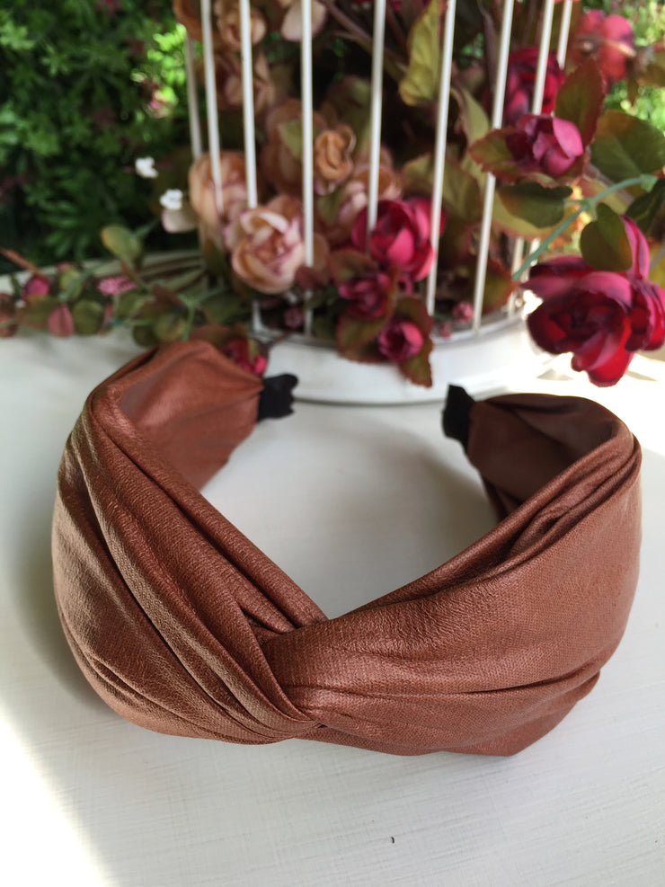 Tan Twister Hairband