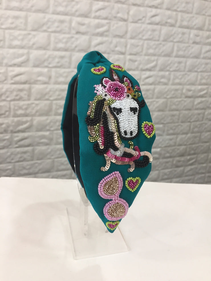 Unicorn Flamingo Turban Hairband