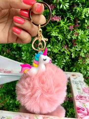 Fancy Unicorn Key Chain