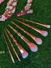 Gold Make Up Brushes