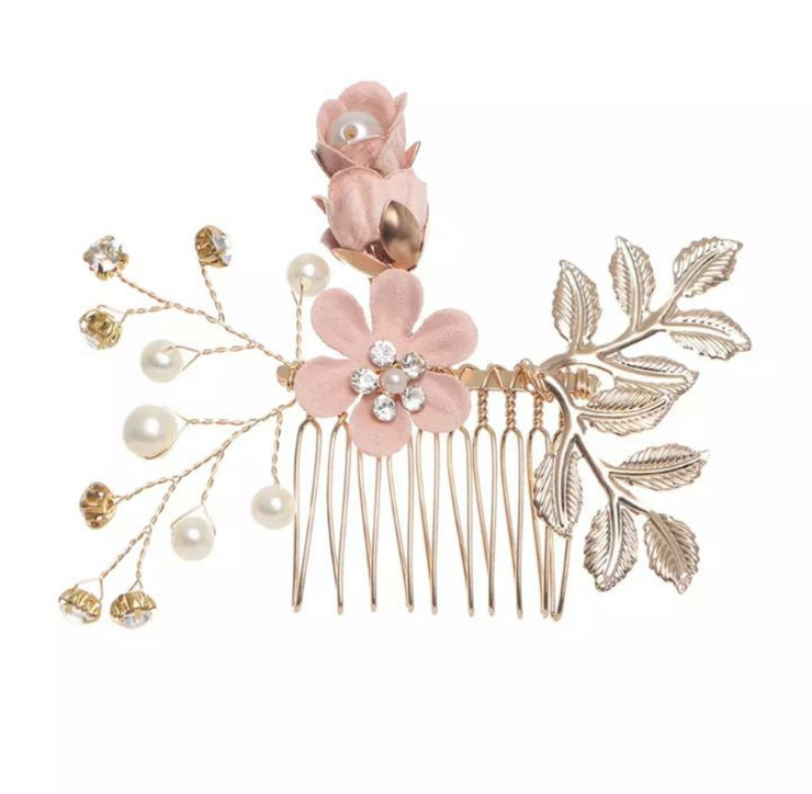 Blossom Hair Comb