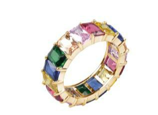 Gem Gold Base Ring