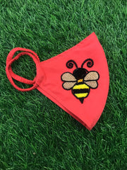 Bee Bubblegum Mask
