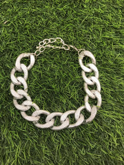 Stylish Silver Chain Necklace