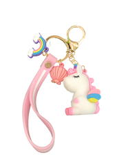 White Fantasy Key Chain