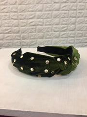 Green Studed Hairband