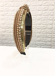 Gold Embroidered Hairband