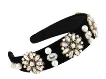 Floral Studs Hairband