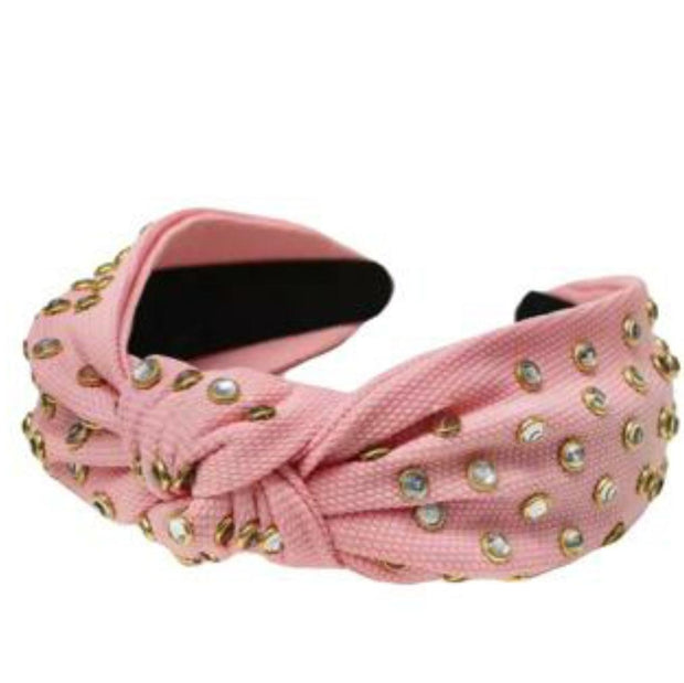 Baby Pink Studded Hairband