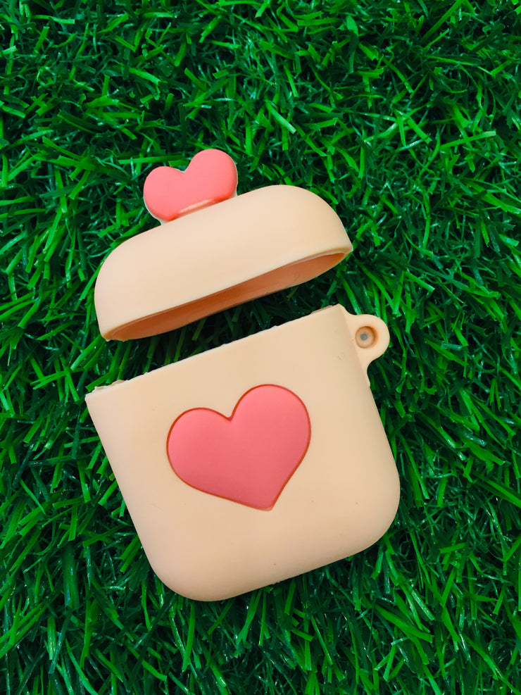 Heart Air Pod Case