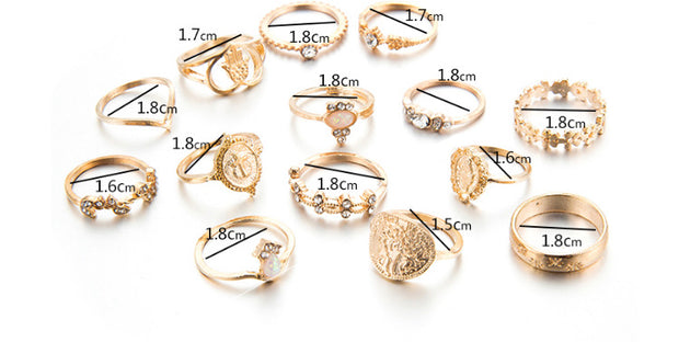 Multi Design Rings