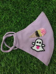 Snap Ice Initial Lilac Mask