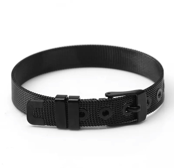 Black DIY 10 MM Strap