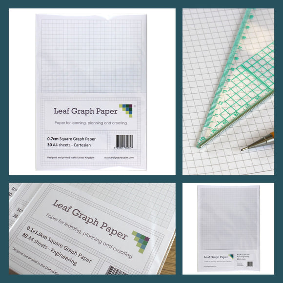 Graph Paper Packs A5 A4 A3